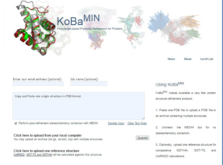 knowledge-based minimization web server for protein structure refinement.jpg